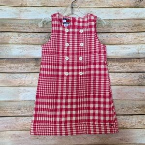 Tommy Hilfiger Pink Houndstooth Dress - Size 3T